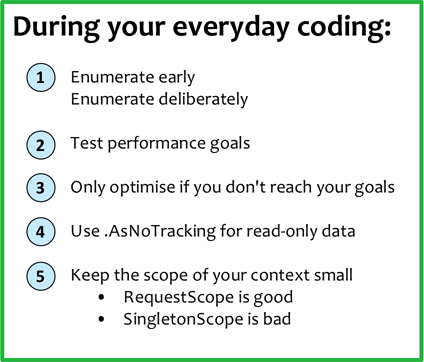 During your everyday coding